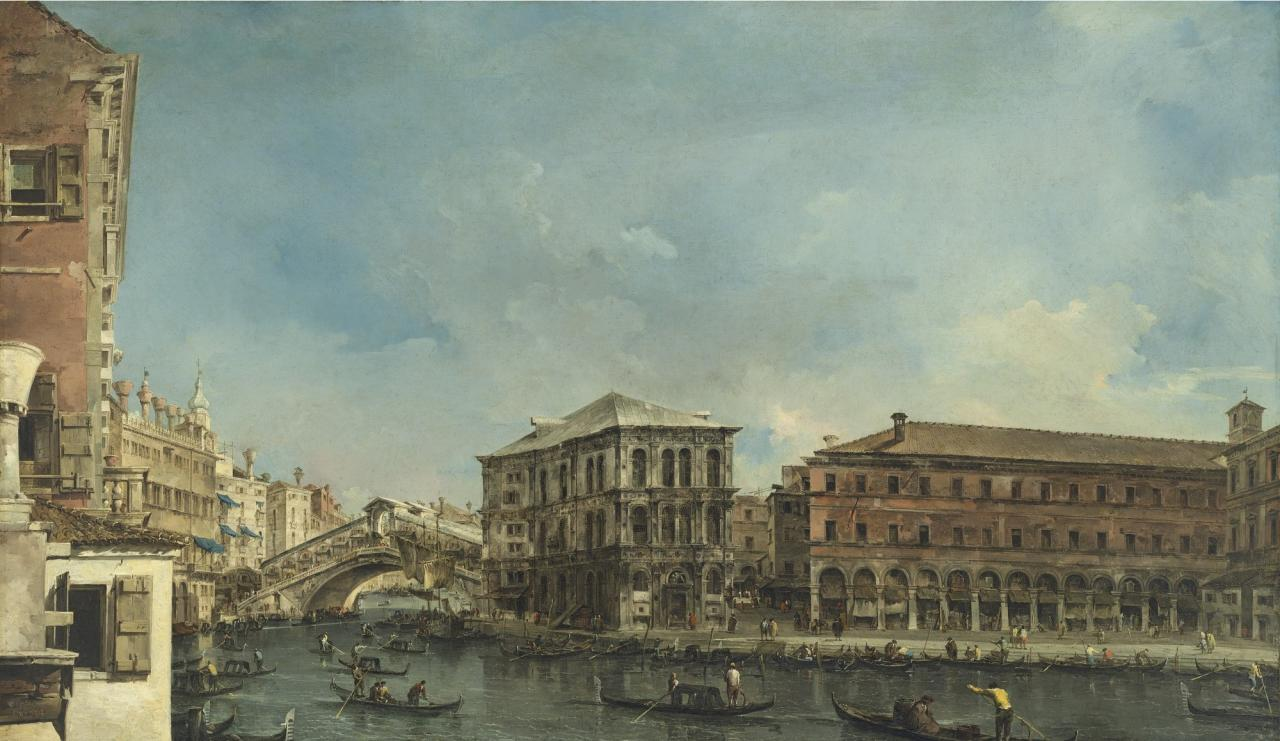 Object lessons: a Venetian scene by Guardi, an ancient Egyptian